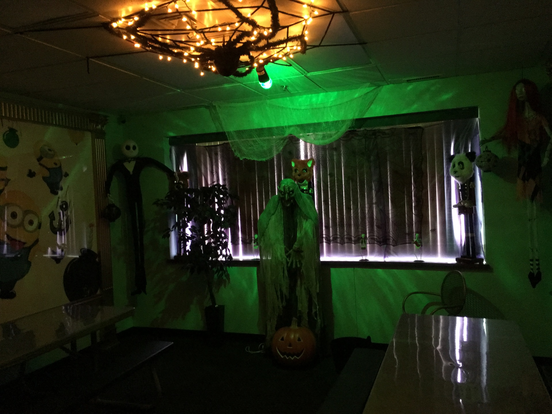 Party Room 3 Themed for Halloween Bash